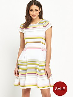 ted-baker-carousel-stripe-skater-dress