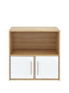 metro-gloss-2-door-1-shelf-storage-unit