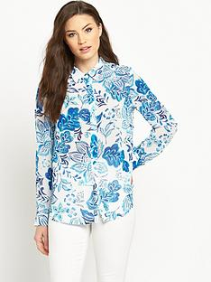 v-by-very-printed-long-sleeved-button-blouse