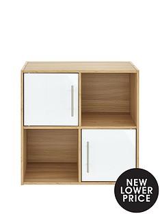 metro-storage-range-gloss-2-x-2-shelving-unit