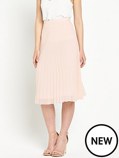 miss-selfridge-pleated-midi-skirtnbsp