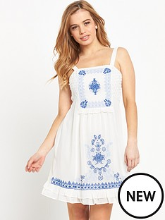 miss-selfridge-petite-embroidered-sundressnbsp