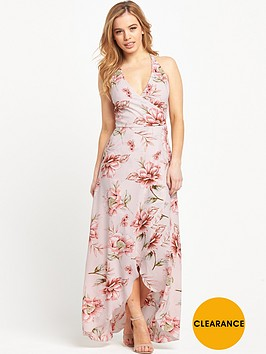 miss-selfridge-frill-wrap-maxi-dress