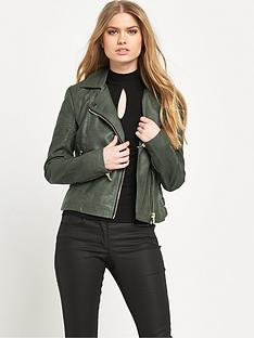 miss-selfridge-pu-biker-jacketnbsp
