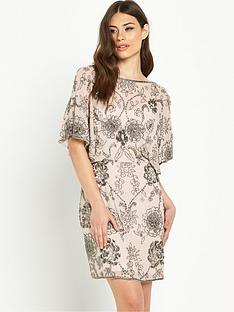miss-selfridge-embellished-angel-sleeve-dress