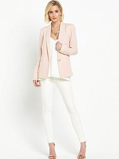miss-selfridge-miss-selfridge-crepe-tux-blazer