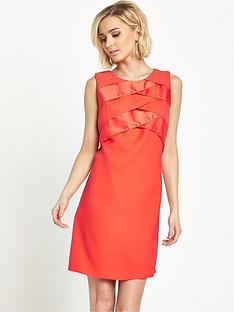 miss-selfridge-ruffle-overlay-shift-dress