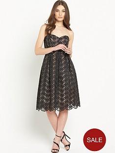 miss-selfridge-embroidered-organza-bandeau-midi-prom-dress