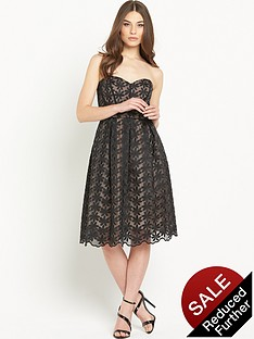miss-selfridge-embroidered-organza-bandeau-midi-prom-dress