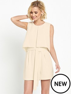 miss-selfridge-invert-pleat-layer-playsuitnbsp