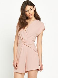 miss-selfridge-drape-playsuit