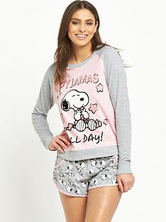sorbet-snoopy-sweat-and-short-set