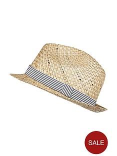 river-island-denim-trim-trilby-hat
