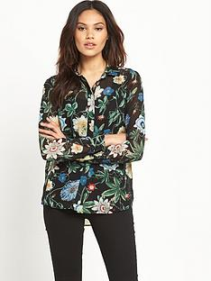 warehouse-botanical-print-blouse