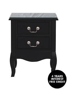 new-elyseenbsp2-drawer-bedside-cabinet-plain-front