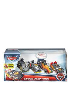 disney-cars-disney-cars-carbon-racers-carbon-speed-4-pack