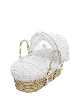 Winnie The Pooh Dreams &Amp Wishes Moses Basket &Amp Rocking Stand