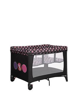 minnie-mouse-bassinette-travel-cot--circles