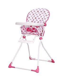 minnie-mouse-circles-highchair