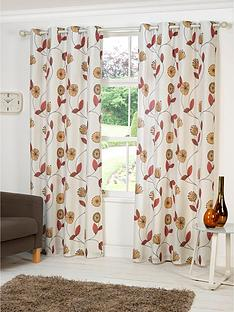 dandelion-printed-eyelet-curtains
