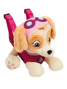 paw-patrol-skye-plush-backpack