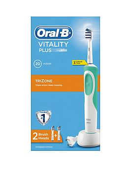 OralB Vitality Power Hand Trizone Electric Toothbrush