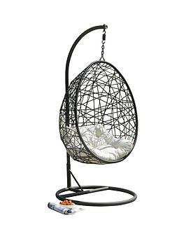 Retreat Rattan Egg Hanging Chair