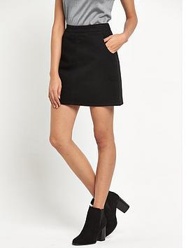 warehouse-denim-pelmet-skirt