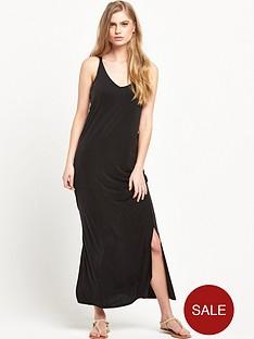 warehouse-cupro-midi-dress
