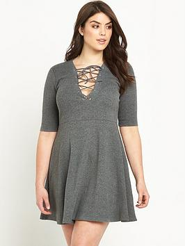 alice-you-alice-amp-you-tie-front-fit-and-flare-dress