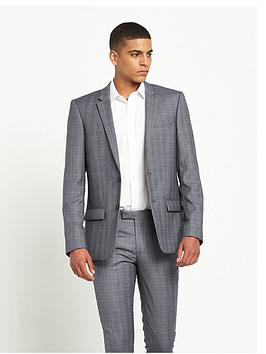 river-island-skinny-fit-check-suit-jacket