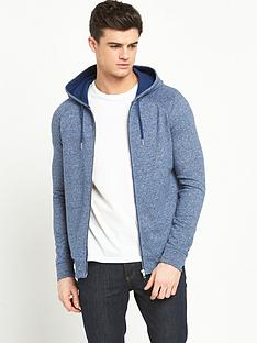 river-island-marl-hooded-top