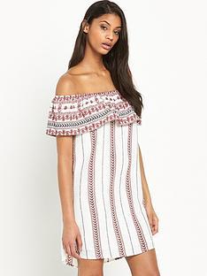 glamorous-off-the-shoulder-dress