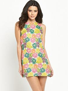 glamorous-jacquard-shift-dress