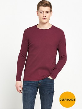 river-island-ribbed-long-sleeve-t-shirt