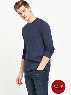 river-island-ribbed-long-sleeve-t-shirt