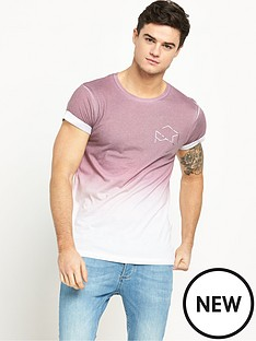 river-island-faded-hexagon-print-mens-t-shirt