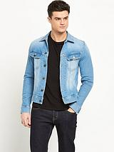 Lee Jeans slim fit denim rider jacket