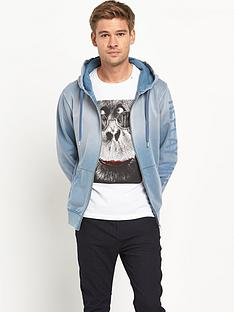 replay-full-zip-hooded-top