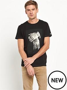 replay-hand-amp-watch-print-short-sleeved-tshirt