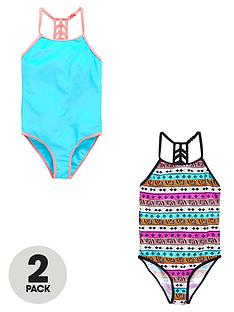v-by-very-2-pack-aztec-swimsuits