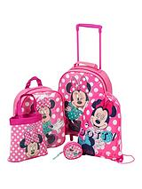 Minnie Mouse 5 Piece Trolley Set