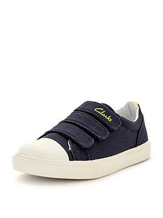 clarks-boys-club-halcynbspcanvas-strap-shoesnbsp