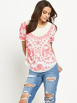 Premium Embellished Woven Blouse
