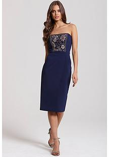 little-mistress-sequin-embellished-bodycon-dressnbsp