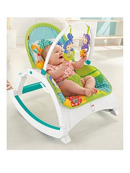 FisherPrice Rainforest Newborn Toddler Rocker