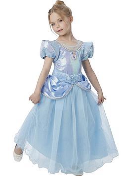 Disney Princess Premium Cinderella  ChildS Costume