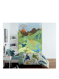 catherine-lansfield-dinosaur-wall-art