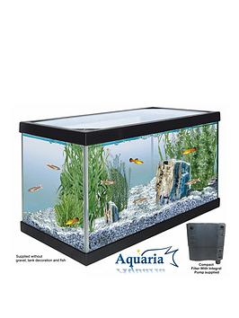 Lotus Aquaria Fish Tank Start Up Kit  17Ltrs Including Pump And Filter