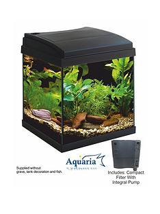 lotus-aquaria-fish-tank-set-30-23ltrs-including-lighting-pump-and-filter